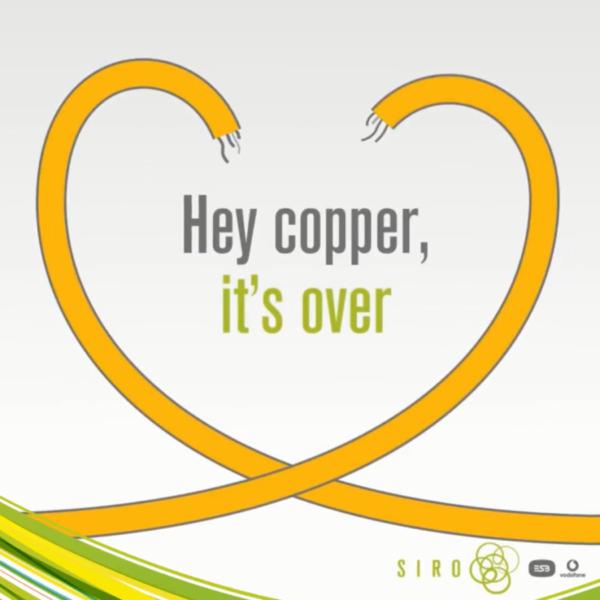 Switc off copper siro fibre broadband