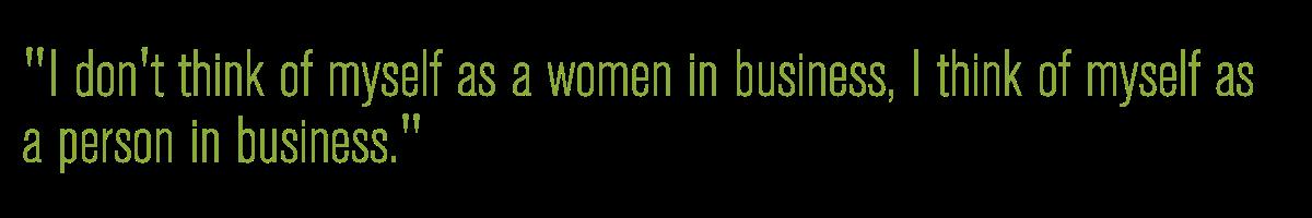 Woman in business SIRO